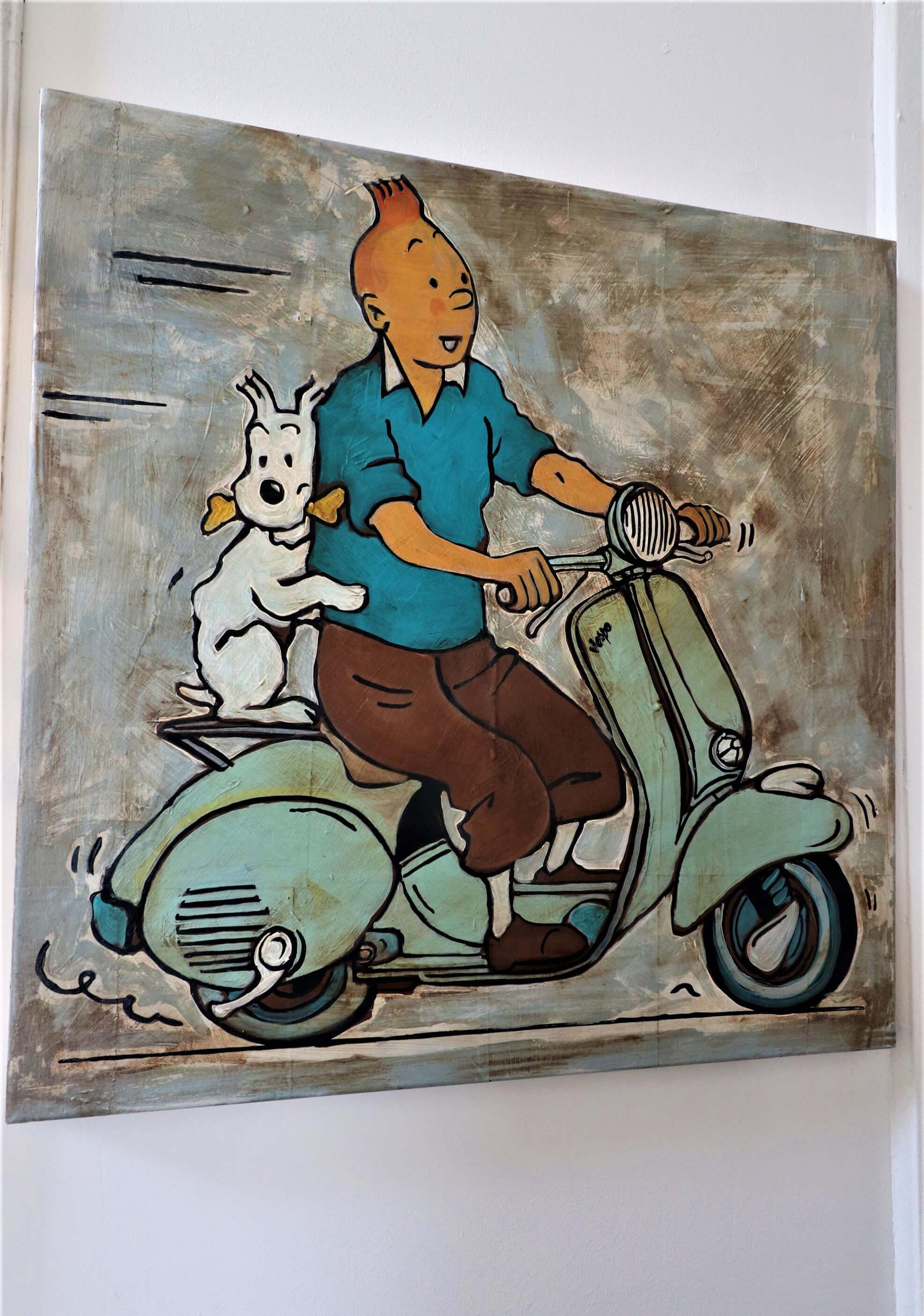 Déco intérieur Tintin Milou
